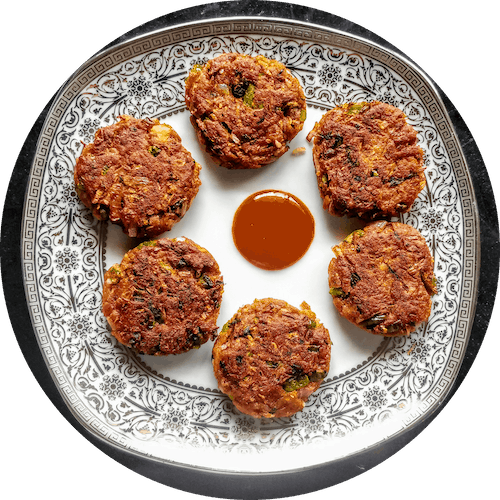Bread Aloo Tikki by Chitra Kamble